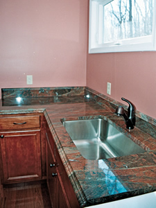 Granite Laundry Room Counter